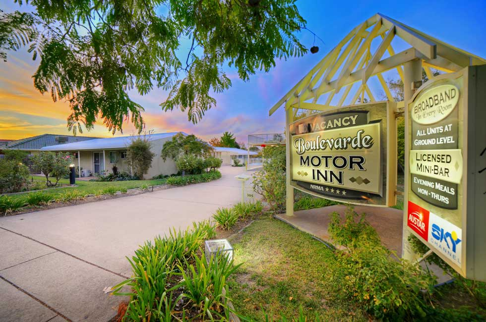 Boulevarde Motor Inn offers quality accommodation, with all the usual features including Free WiFi and Foxtel